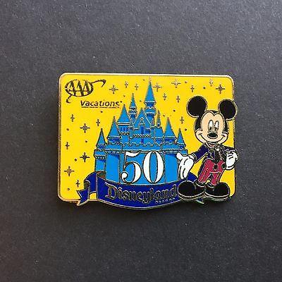 2005 AAA Travel Pin Disneyland 50th Anniversary Disney Pin 38872