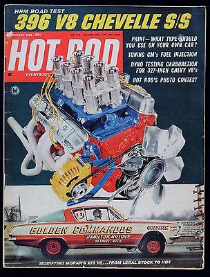 HOT ROD MAGAZINE - FEBRUARY 1966 - Power Mods for MoPar's 273