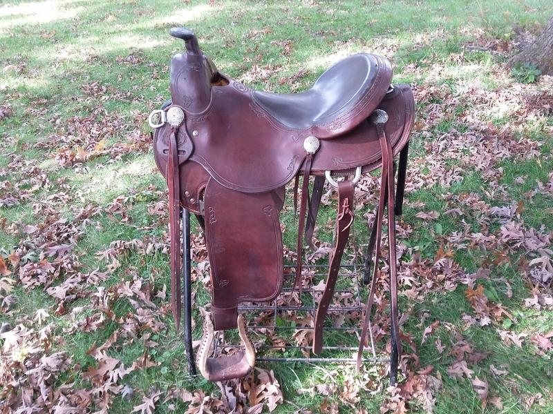 RW Bowman Saddle