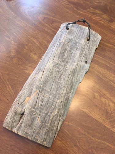 100 Year Old Barwood Wall Hanger From Saskatchewan, Canada, Very Strong Wood.