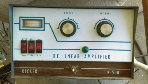 Rare R.F Linear Amplifier Kicker K-500 CB/Ham