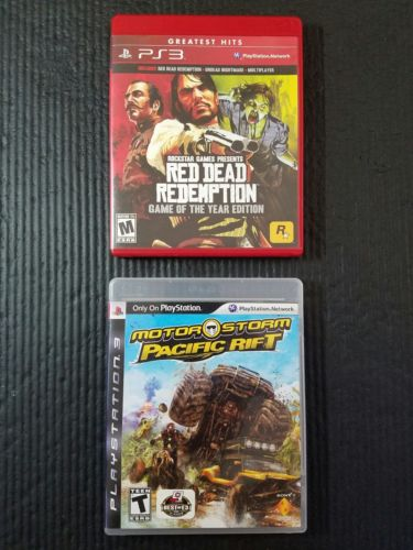 Red Dead Redemption Game of the Year Edition PS3 lot SHIPS FREE!!