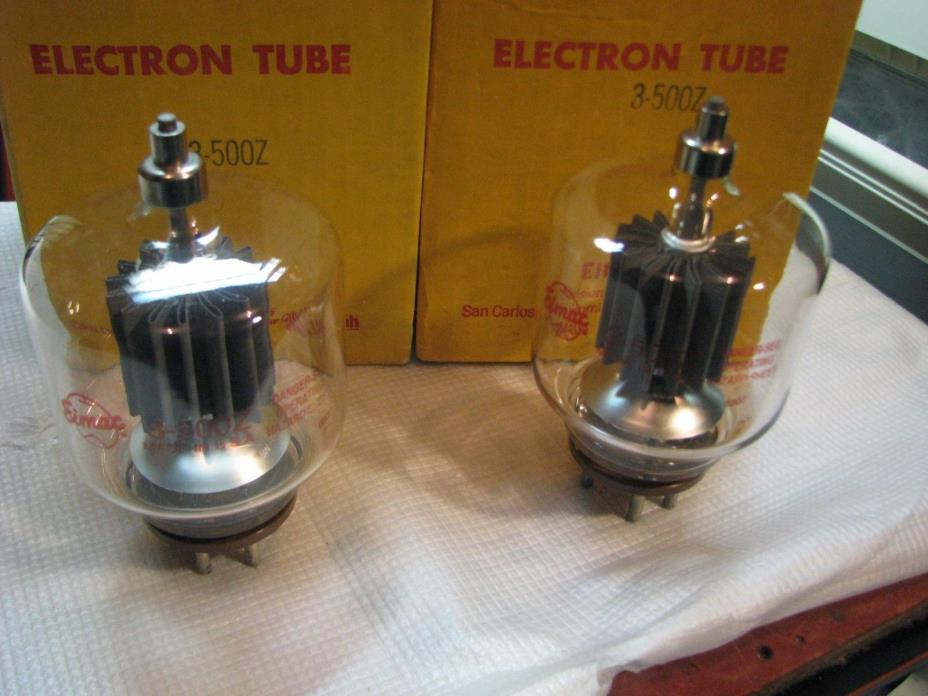 3 500z Tubes - For Sale Classifieds