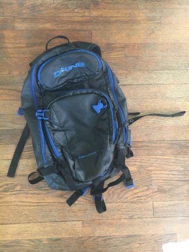 DAKINE Chute Heli Pro 20L Men's Outdoor Backpack Blk Blue Snowboard Ski Hiking