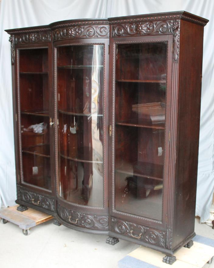 Antique carved door for sale classifieds for Triple french doors for sale