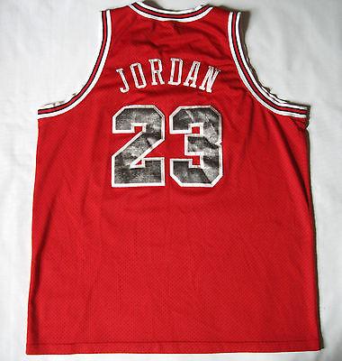 Vintage Chicago Bulls Michael Jordan 1984/03 Nike Flight Jersey size XXL
