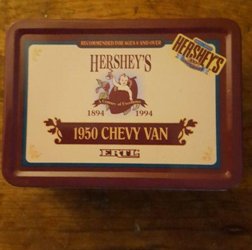 Hersheys collectable die cast: 1950 Chevy Panel  Van 1:43 scale