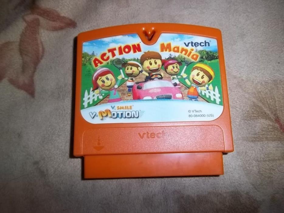 Vtech Vsmile Vmotion Games - Action Mania