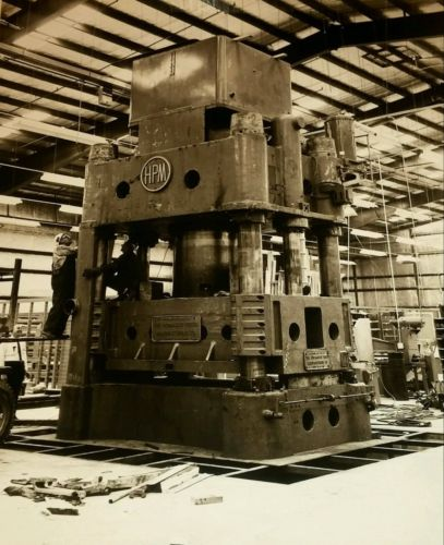 Vtg 1960's 8 x 10 PHOTO-HPM (Hydraulic Press Manufacturing) Mount Gilead OH-Lot