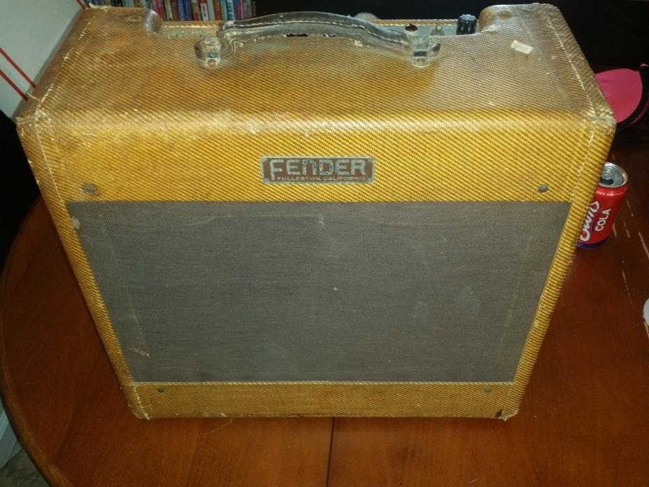 Fender Deluxe tweed 5C3 1954 vintage guitar amplifier