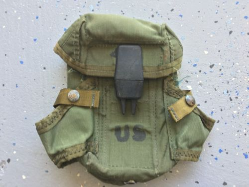US Army Military Magazine Ammo Pouch Bag Field Gear Belt Clip Hunting Gear