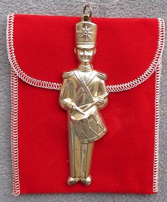 Gorham Sterling Silver 1974 Toy Soldier Ornament