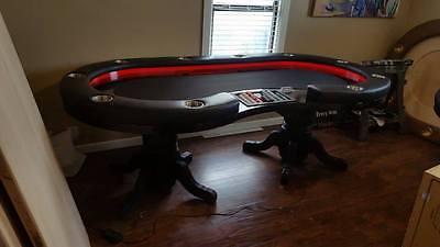 Custom Poker Table 4'x8' Dealer Spot