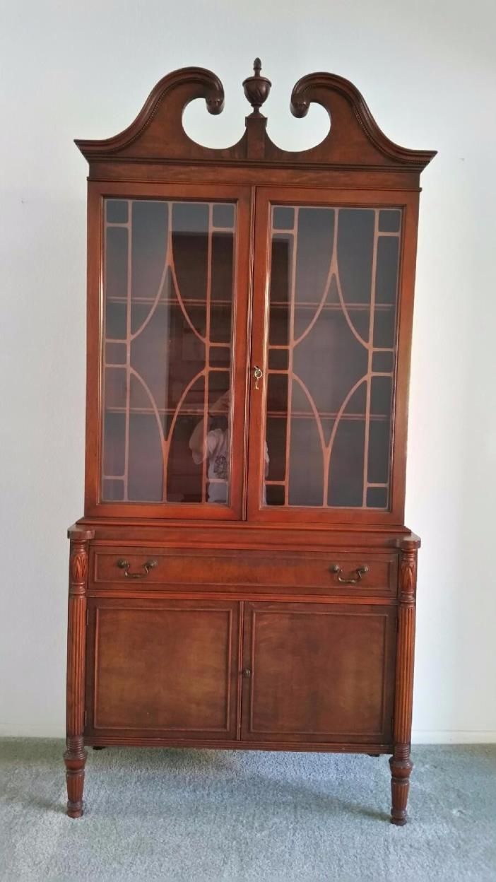 Cherry wood hutch for sale classifieds