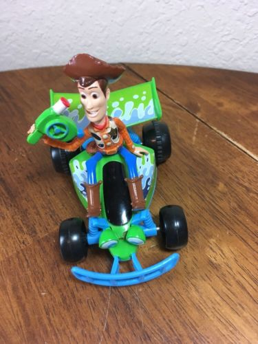 Gently Used Disney Pixar Toy Story Woody RC Car Talks