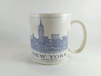 2008 STARBUCKS NEW YORK Big Apple City MUG Architecture Series Mug Cup 18 FL OZ