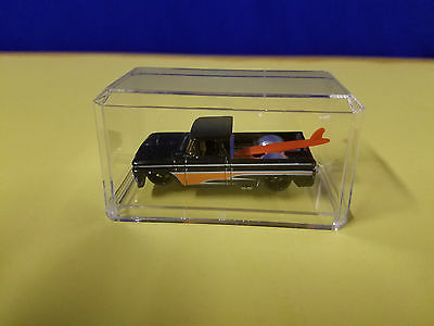 1/64 HOT WHEELS CUSTOM 62 CHEVY TRUCK  w/display case