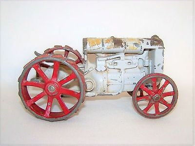 Vintage Ertl Fordson Die Cast Toy Tractor With Steel Wheels Parts Replacement