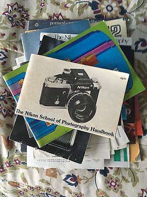 Lot of Nikon F2 and related Brochures (non-ai, F2, DP-1 finder)