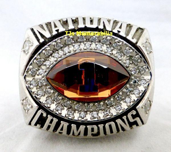 2008 FLORIDA GATORS BCS  NATIONAL CHAMPIONS CHAMPIONSHIP RING PLAYER