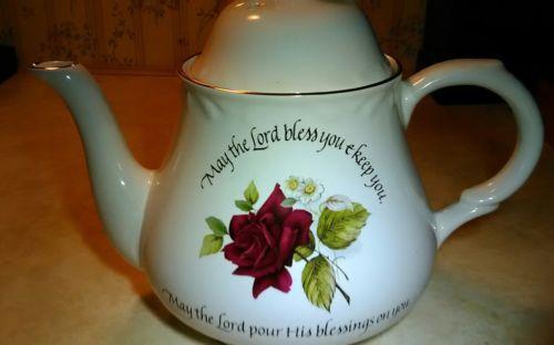 arthur wood son staffordshire england teapot