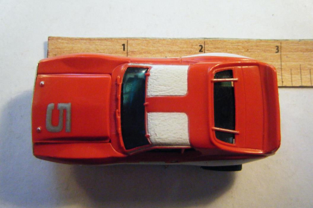 AFX JAVELIN TRANS AM RED BODY WHITE SIDE STRIPES #5