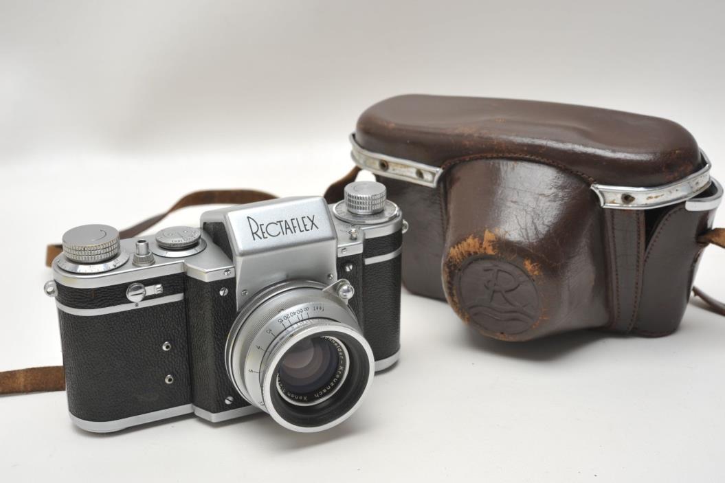 Rectaflex Starea, Rectaflex 1300 Standard w/Schneider Xenon 50mm 2.0 Lens