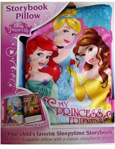StoryBook Pillow Disney Princess - My Princess Friends