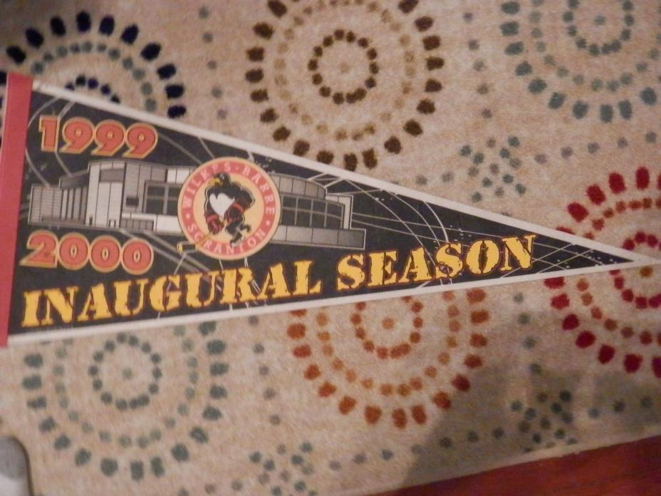 Wilkes-Barre/Scranton Penguins Inaugural Season Full size pennant