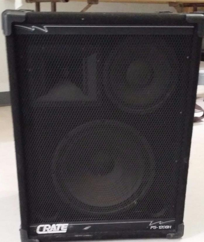 Crate PS-1208H PA Speakers