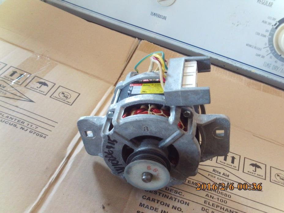 Washing machine motor for sale classifieds for Whirlpool washer drive motor