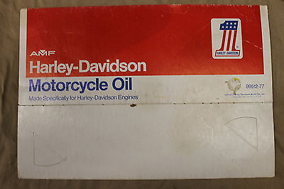 Harley Davidson Oil Can AMF #1 4-Pack Sleeve Vintage Motorcycle Man Cave Antique