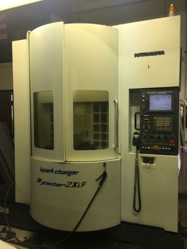 KITAMURA Mycenter 2XIF SPARK CHANGER (2007) 20,000 RPM With Dakin AKZ328-D142