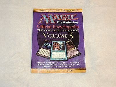 Magic the Gathering Official Encyclopedia Volume 3