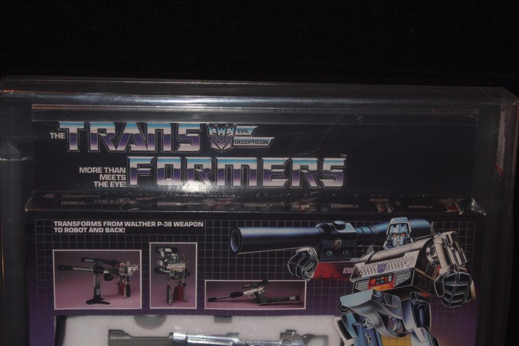 Transformers Series 1 Megatron Pre Rub MIB Sealed AFA 80+ (B80-W85-F85)