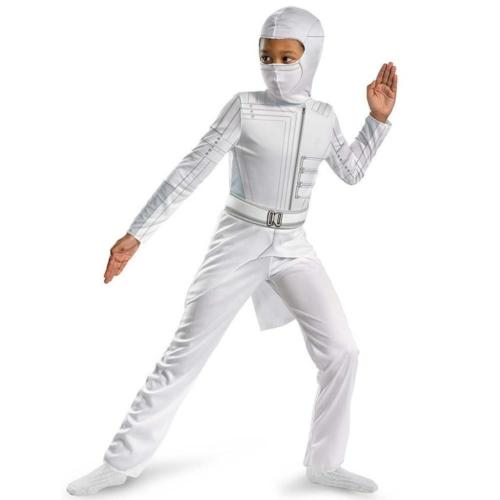 NEW GI Joe Storm Shadow Classic Costume size M 7/8 Kids Outfit Coat 6TJUzg1