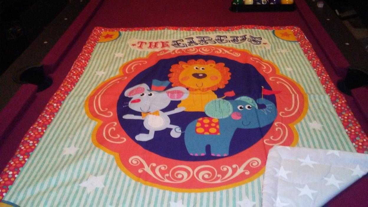 THE CIRCUS BABY QUILT
