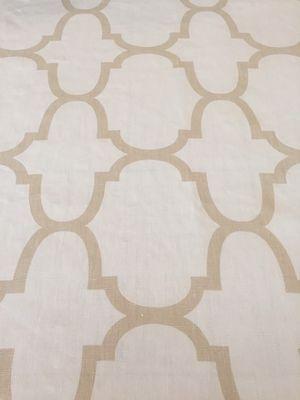 KRAVET Upholstery Fabric Riad Ivory Windsor Smith Beige Linen Drapery 3/4 Yd