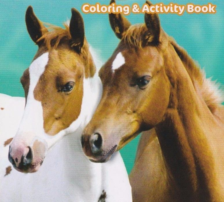 Brand New Pony Pals Giant Coloring & Activity Book Free Fast Shipping Kids