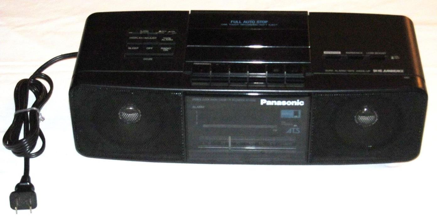 Vintage Panasonic RC-X250 Cassette Player - Used Condition - Tested Works Fine