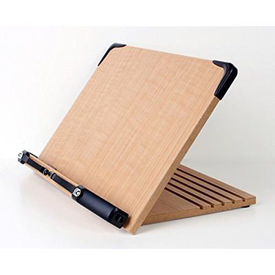 Book Stand Ipad Holder Tablet Page Paper Adjustable Foldable Tray Home Office