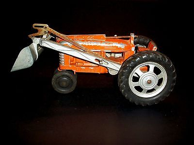 1960s Very Large Hubley Tractor Truck Car 14 Inches Long ...No Marx on tires