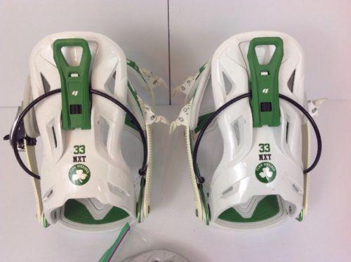 Flow NXT Snowboard Bindings M Large / RARE Irish Green