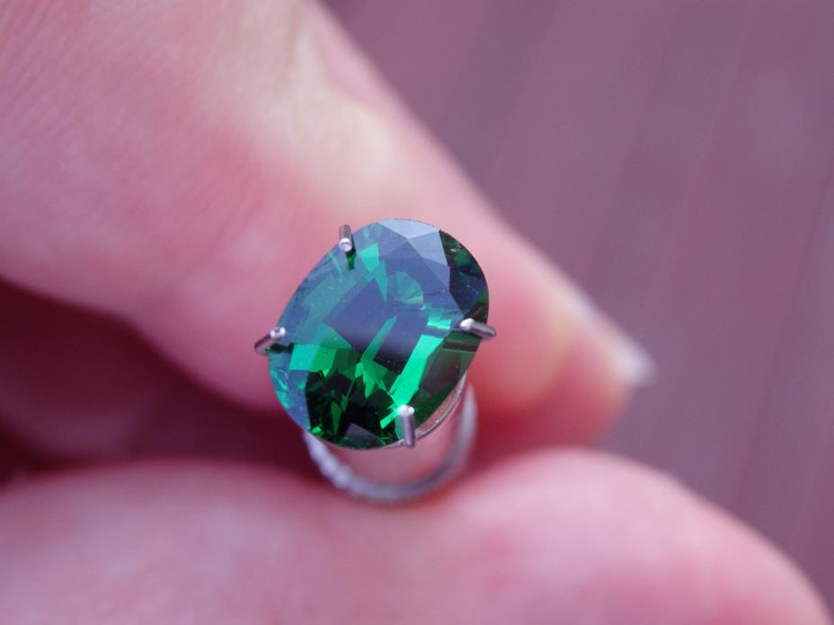 Intense Green High Luster Genuine Natural Tsavorite Garnet 2.22ct VS *US SELLER*