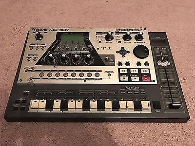 Roland MC-307 GrooveBox Synthesizer Drum Percussion Machine