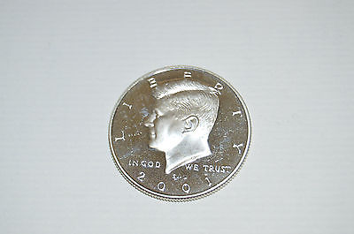 2001-S Silver Proof Kennedy Half Dollar