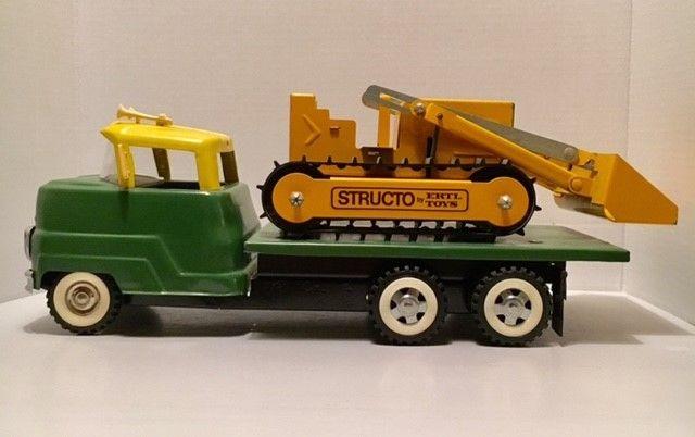 Structo Bulldozer Truck