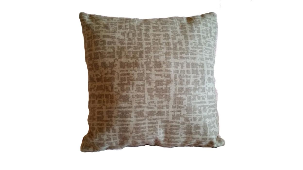 1 Very Soft Pillow Cover Pollack Dapper Wool Birch Bark 1042/01 - B3
