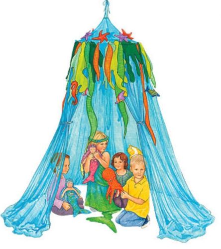 HearthSong Under The Sea Hideaway - Childrens Play Tent / NEW IN BAG Canopy