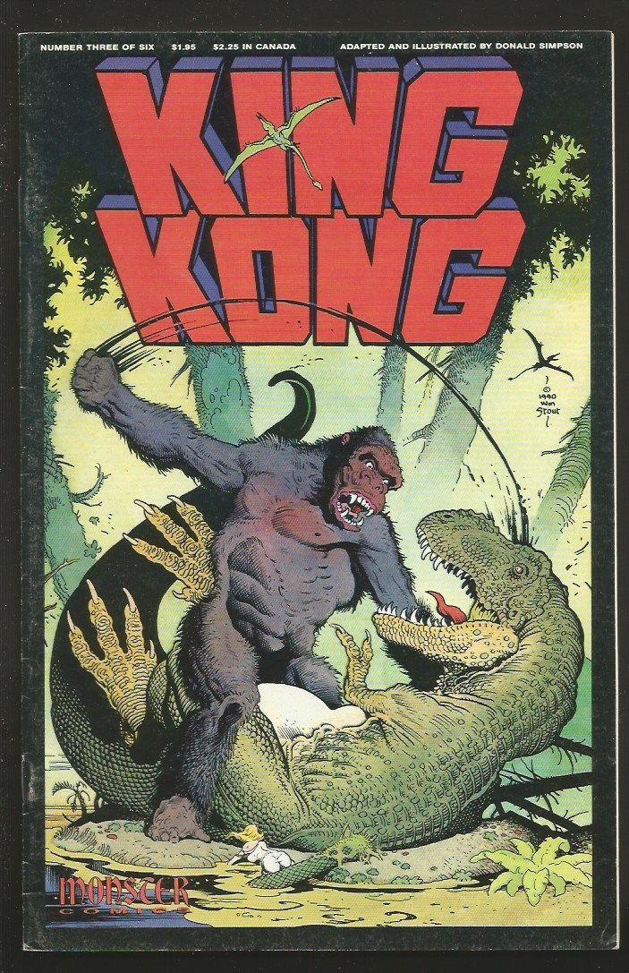 KING KONG #3 Stout Cover